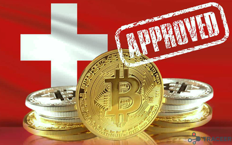 Swiss crypto exchange customers